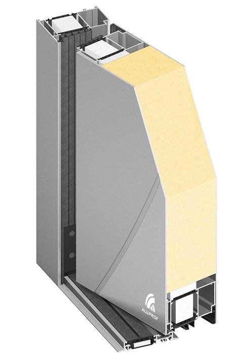 Przekroj Drzwi Thermo Mb 104 Passive